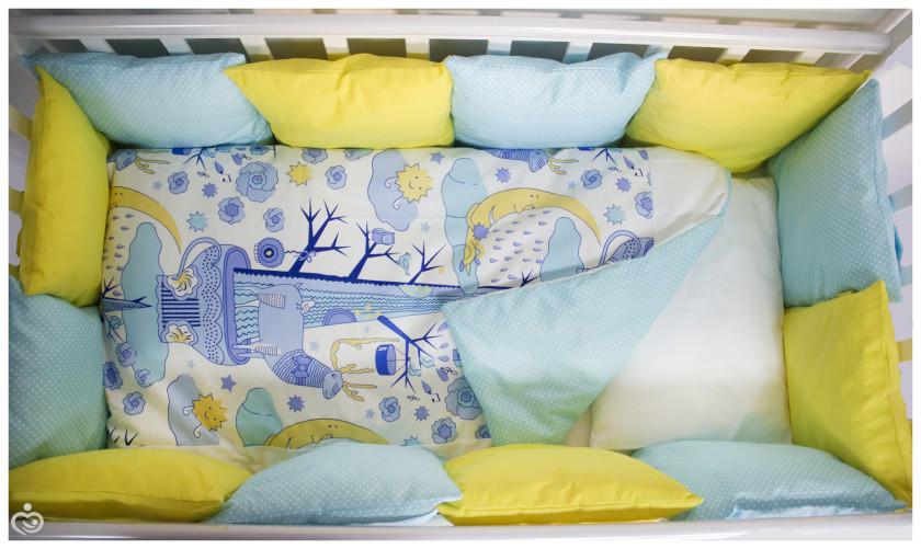 Как сшить постельное белье для новорожденного в кроватку своими руками