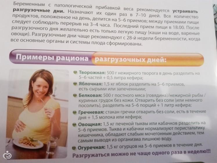 Варианты разгрузочных дней для беременных 71