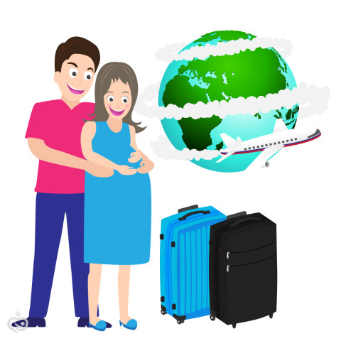 Можно ли на самом деле летать во время беременности?